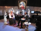 St Louis Video - Actors Tracy Cain and Ron Wilkinson on the live set